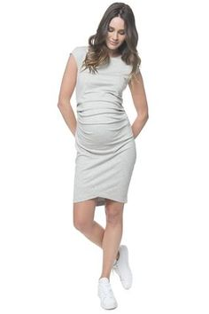 f511129a8f013 All or nothing dress - grey Grey Maternity Dresses, Maternity Clothes  Online, Maternity Wear