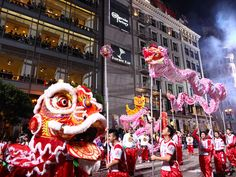 The Southwest Airlines Chinese New Year Parade, San Francisco