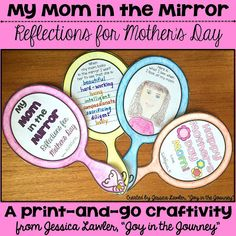 Joy in the Journey~: Mother's Day Mirror Craftivity: New Pages Added!