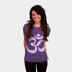 Blue Watercolor Ohm Symbol T Shirt By Heartlocked Design By Humans Ohm Symbol, Mens Suits, Tank Man, Lavender, Long Sleeve Tees, T Shirts For Women, Pullover, Shirt Store, Watercolor