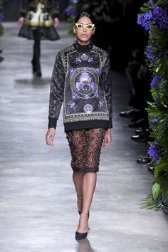 Défile Givenchy Prêt-à-porter Automne-hiver 2011-2012 - Look 38