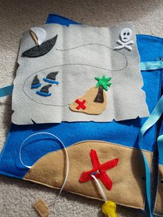 Pirate Themed Quiet Book Pages | And Next Comes L