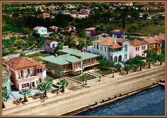 İzmir 1950's Türkiye Istanbul, Old Things, Mansions, History, House Styles, Travel, Home, Historia, Viajes