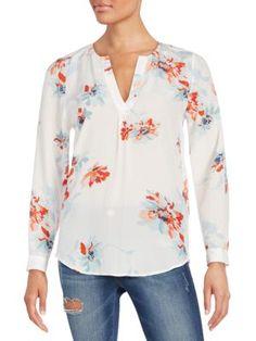 JOIE Deon Silk Blouse. #joie #cloth #blouse