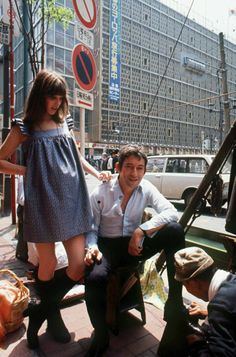 Serge Gainsbourg and Jane Birkin