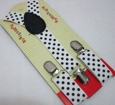 Free Shipping 2016 New Fashion 12 Color Black White Color Polka Dotted Kids Child Suspenders Boyes Girls Braces For 1-8 Years