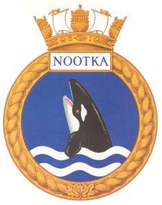 HMCS NOOTKA Badge - The Canadian Navy - ReadyAyeReady.com