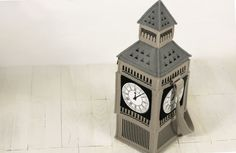 Big Ben Tower Felt Bag от krukrustudio на Etsy, $170.00