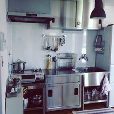 yuccoさんの、キッチン,キッチン,ステンレス,ステンレスキッチン,業務用キッチン,のお部屋写真