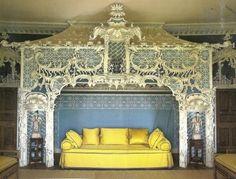 Claydon House Chinese room #yellow #ColorOfTheWeek 8/5/13