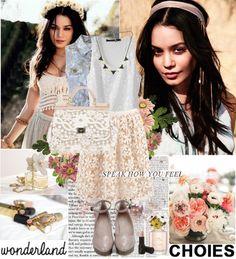 """Vanessa Hudgens ♥"" by dora04 ❤ liked on Polyvore"