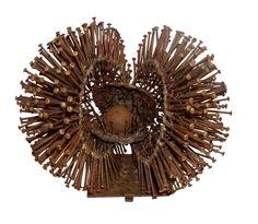 Brutalist Dandelion Sculpture at Contemporary Baskets, Contemporary Sculpture, Dandelion Art, Installation Art, Art Installations, Found Object Art, Sculptures For Sale, Land Art, Conceptual Art
