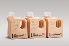 Cha Tzu Tang Laundry Detergent packaging designed bh Victor Branding Design Corp.