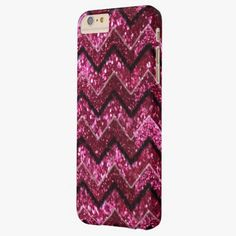 iPhone 6 Plus Cases   Bling Glam Girly Glitter Sparkle Chevron Barely There iPhone 6 Plus Case