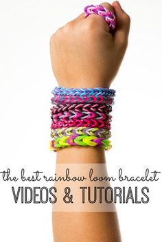 Can't figure out how to make anything on your rainbow loom? We've found the best rainbow loom bracelet patterns and tutorials - with video instructions. You're welcome!