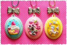 ♥~Sweet Kawaii Cameos~♥ by stOOpidgErL, via Flickr
