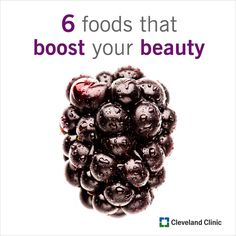 6 Foods That Boost Your Beauty: Snack smart to keep your skin smooth and healthy...