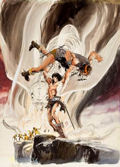 Savage Sword of Conan by Neal Adams                                                                                                                                                                                 Plus
