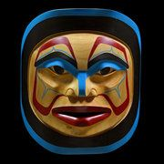 Photograph; Winter Moon Mask  Culture; NW Coast Nation COPYRIGHT ©