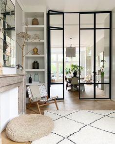 Elegant Home Decor, Elegant Homes, Happy New Home, Creation Deco, Home Interior Design, Interior Doors, Modern Interior, Home Fashion, Home Living Room