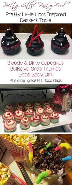 A Pretty Little Party:  Food ideas for your next Pretty Little Liars pArty!