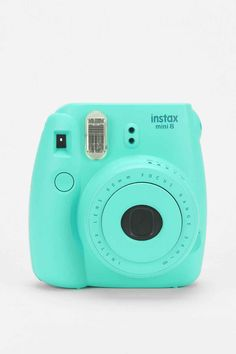Shop Fujifilm X UO Custom Color Instax Mini 8 Instant Camera at Urban Outfitters today. We carry all the latest styles, colors and brands for you to choose from right here. Instax Mini 8 Camera, Fujifilm Instax Mini 8, Polaroid Camera Fujifilm, Mini Polaroid, Polaroid Instax, Fuji Instax, Vintage Polaroid, Azul Tiffany, Mint Green