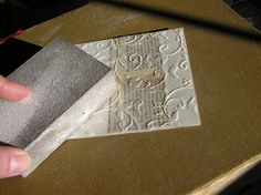 Mel Stampz: Sweet New LPS Set! (and Wax Paper Fresco Patina-[New(?) Cuttlebug/Big Shot Technique]