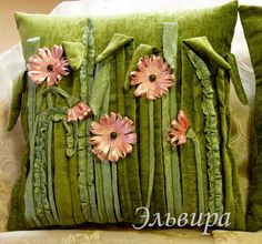 Trendy Ideas Crochet Pillow Cushion Blankets - My CMS Applique Cushions, Sewing Pillows, Diy Pillows, Custom Pillows, Decorative Pillows, Throw Pillows, Crochet Patterns Free Women, Sewing Patterns, Crochet Ideas