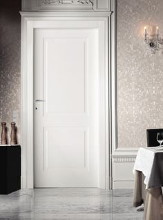 2 panel classic interior door available in White or Ivory finish. View door specification (PDF format) Looking for an 8 ft. PRODUCT FEATURES: Door Slab: 44 mm solid wood blocks covered with PVC in white or ivory Brass or chro 2 Panel Interior Door, White Interior Doors, Interior Door Styles, White Doors, Contemporary Interior Doors, Interior Modern, Internal Doors Modern, Modern Door, House Doors