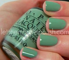 what a fun color! I need spring to hurry up!!