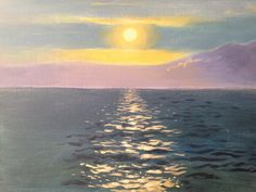 Learn how to #paint ocean sparkles in #acrylics with Jon Cox as part of our #landscapes academy. Coming soon to ArtTutor.