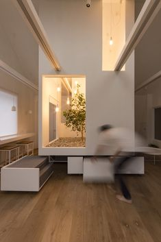 Living Space - Architecture and Home Decor - Bedroom - Bathroom - Kitchen And Living Room Interior Design Decorating Ideas - Architecture Courtyard, Space Architecture, Modern Interior Design, Interior Design Living Room, Living Room Designs, Villefranche Sur Saône, Living Place, Cafe Interior, Room Interior