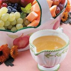 Fruit Salad Dressing Recipe.
