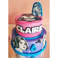 Princess Leia Star Wars cake / 2tarts Bakery / www.2tarts.com