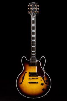 Guitar Center: Platinum : Gibson Custom ES359 Figured Semi-Hollow Vintage Sunburst