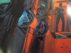 Blade Runner, Futurism Art, Syd Mead, 70s Sci Fi Art, Retro Futuristic, Science Fiction Art, Environment Concept Art, Traditional Paintings, Les Oeuvres