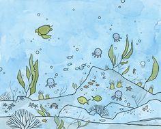under the sea illustration - studio tuesday