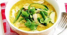 This amazing green chicken curry is guaranteed to have your family coming back for seconds.