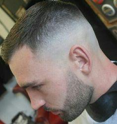 High Fade High And Tight Fade, High And Tight Haircut, Medium Skin Fade, Hair And Beard Styles, Hair Styles, Wet Hair, Men's Hair, Beard Haircut, Slick Hairstyles