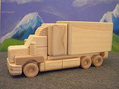 Wooden Toys - Tandem Delivery Van