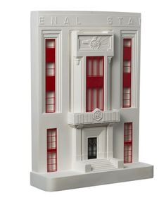 Amazing model of Arsenal Stadium handmade by @Chelsea Morland & Mouse on Etsy, $135.00