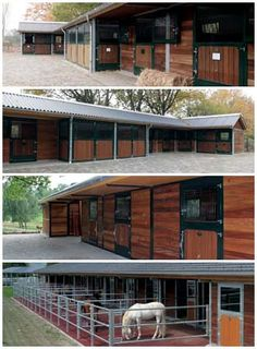 Stable block layouts.... I like the longer stalls that stick out
