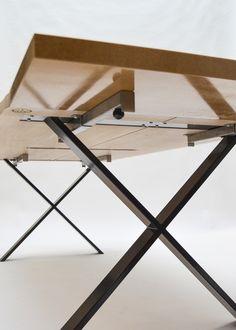 Plankebord i egetræ (m. tillægsplader)