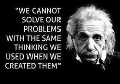 """Einstein on problem solving. Need my """"Einstein-a-day"""" =) Life Quotes Love, Wise Quotes, Quotable Quotes, Great Quotes, Quotes To Live By, Motivational Quotes, Inspirational Quotes, Famous Quotes, Wise Sayings"""