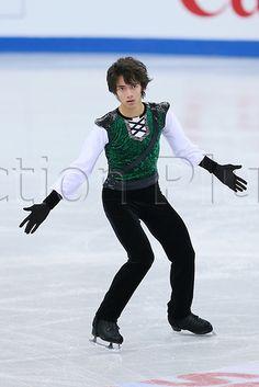 07.12.2012. Sochi, Russia.  Ryuju Hino (JPN), ISU Junior Grand Prix of Figure Skating Final 2012/2013 ..Mens Free Skating at Iceberg Skating Palace, Sochi, Russia. ..