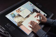 Wacom releases Cintiq 24HD touch with multi-touch screen, plus 22-inch Cintiq 22HD - News - Digital Arts