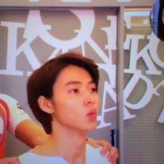 "[Vine] https://vine.co/v/i07jmqgdWQa         Kento Yamazaki's cute breathing<3, TV show ""Oshare-ism"", May/15/2016"