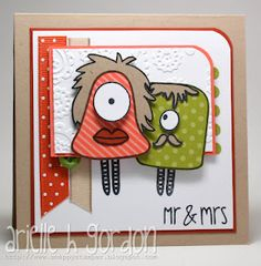 MR & MRS by Arielle~Snappy Stampin' w/ Arielle