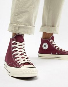 Converse Chuck Taylor All Star  70 Hi  sneakers In Burgundy 162051C All Star  Shoes cfdd61de2