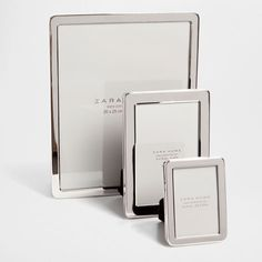 Silver Picture Frame with Rounded Corners - Frames - Decoration   Zara Home Croatia